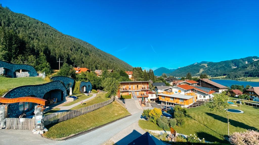 Das kleine Dorf in Oberdorf